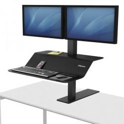 Postazione di lavoro VE SIT-STAND Lotus monitor doppio Fellowes