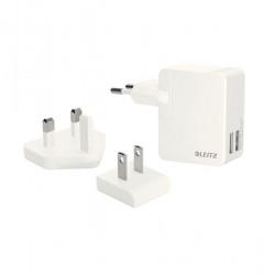 Caricatore universale 2 porte USB bianco LEITZ COMPLETE