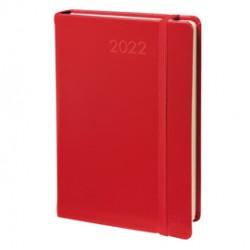 Agenda giornaliera Daily Pocket Prestige 8,8X13 Habana rosso 2022 Quo Vadis